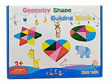 Розвиваюча іграшка Геометрика MD 2329 дерев'яна (2329C)