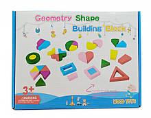 Розвиваюча іграшка Геометрика MD 2329 дерев'яна (2329D)