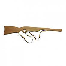 Іграшкова рушниця 171861y дерев'яне, бук 50см