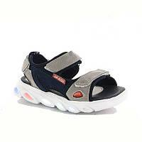 Босоніжки спортивні сандалі з LED-підсвічуванням. Розміри 23, 25, 26, 28.