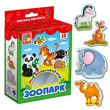 """Игра для малышей """"Зоопарк"""" VT3106-02 на магнитах"""