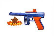 Іграшковий автомат з м'якими кулями M60 PF Golden Gun 909GG (Синій)
