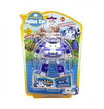 Детский трансформер Robocar POLI 378B высота 12 см (Синий Полиция)