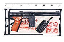 """Іграшковий автомат """"M60"""" Golden Gun 253GG з пістонами"""
