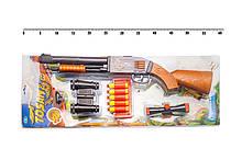 """Іграшковий дробовик """"Tosan"""" Golden Gun 925GG з м'якими кулями"""