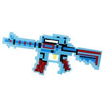 Датський іграшковий автомат Майнкрафт 0223-2 зі звуками (Blue)