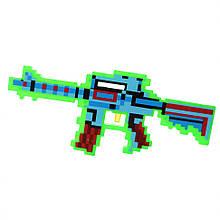Датський іграшковий автомат Майнкрафт 0223-2 зі звуками (Green)