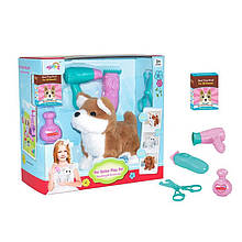 Іграшковий собака з набором грумера T823-1 плюшева