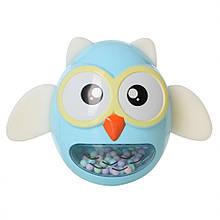 Іграшка-неваляшка Сова G-A027, 4 види (Блакитний)