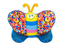 "М'яка іграшка ""Метелик"" DT-ST-01-56 джинсова"