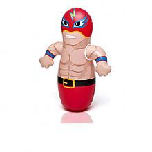 Надувна фігура Неваляшка боксер 44672 з обважнювачем (Боєць)