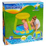 Детский надувной Бассейн BW 52331 с надувным дном, фото 2