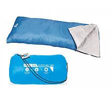 Туристичний спальний мішок Bestway 68053 застібка-блискавка ( 68053(Blue) Синій 180-75см, застібка-блискавка)