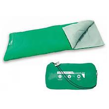 Туристичний спальний мішок Bestway 68053 застібка-блискавка ( 68053(Green) Зелений 180-75см, застібка-блискавка)