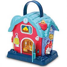 Дитячий музичний розвиваючий будиночок 25848E на англ. мовою (Blue)