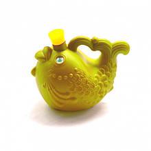 """Детская игровая лейка """"Рыбка"""" 08091 для полива растений (желтая)"""