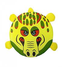 Летающая тарелка. Фрисби M 3345 в виде животных (Крокодил)