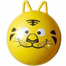 М'яч для фітнесу MS 0936 (Жовтий тигр)