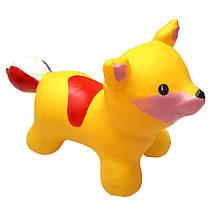 """Іграшка-стрибун """"Лисиця"""" BT-RJ-0074 Надувна (Жовтий)"""