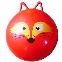 М'яч для фітнесу MS 0937 з вушками (Лисиця)