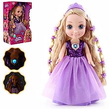 Детская интерактивная кукла M 4485 I UA со светом и звуком