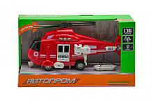Игрушка Вертолет 7674 со звуковыми эффектами (Red)