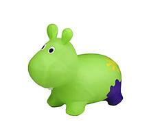 Дитячий стрибун Бегемот G20153 гумовий (Green)