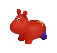 Дитячий стрибун Бегемот G20153 гумовий (Red)