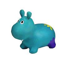 Дитячий стрибун Бегемот G20153 гумовий (Turquoise)