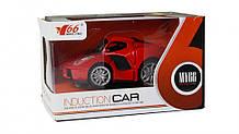 Детская спортивная машинка MY66-Q1232 металичиская  (Красный)