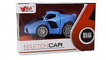 Детская спортивная машинка MY66-Q1232 металичиская  (Голубой)