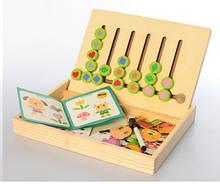 Розвиваюча іграшка Набір першокласника MD 2381 дерев'яна ( 2381-2(Фігури))