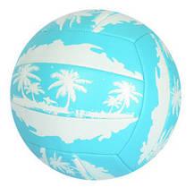 Мяч волейбольный EN 3296 с рисунком (Синий)
