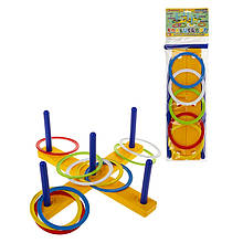 Детская игра для улицы Кольцеброс 1-074, 17 деталей