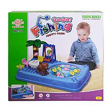 Іграшкова рибалка 391-2, 2 вудки з ігровим полем (Синій)