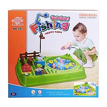 Іграшкова рибалка 391-2, 2 вудки з ігровим полем (Зелений)