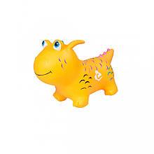 Дитячий стрибун Динозавр BT-RJ-0069 гумовий (Yellow)