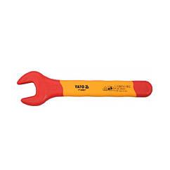 Ключ ріжковий YATO: М13 мм, ізольований корпус VDE до 1000V