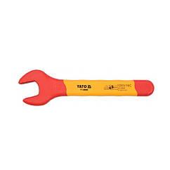 Ключ рожковый YATO: М15 мм, изолированный корпус VDE до 1000V