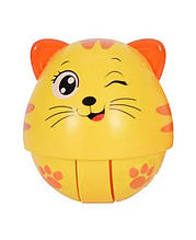 Дитяча неваляшка Тварини WS6105 зі звуком (Кошеня)