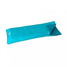 Спальний мішок односпальний BW 68099 в чохлі (Блакитний)