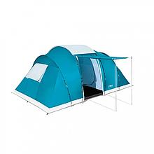 Палатка туристическая шестиместная BW 68094 с навесом
