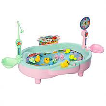 Ігровий набір Магнітна рибалка 383 з ванночкою (Бірюзовий)