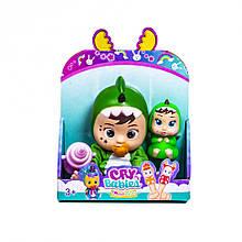 Набір маленьких ляльок Cry Babies 633, 2 шт. в наборі ( 633-E (Дракончик) CRY BABIES)