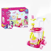 """Детский игровой набор для уборки """"MLP"""" 901-605 на стойке"""