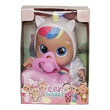 Маленька лялька Cry Babies CRB 655 з аксесуарами (Білий)