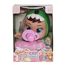 Маленька лялька Cry Babies CRB 655 з аксесуарами (Зелений)