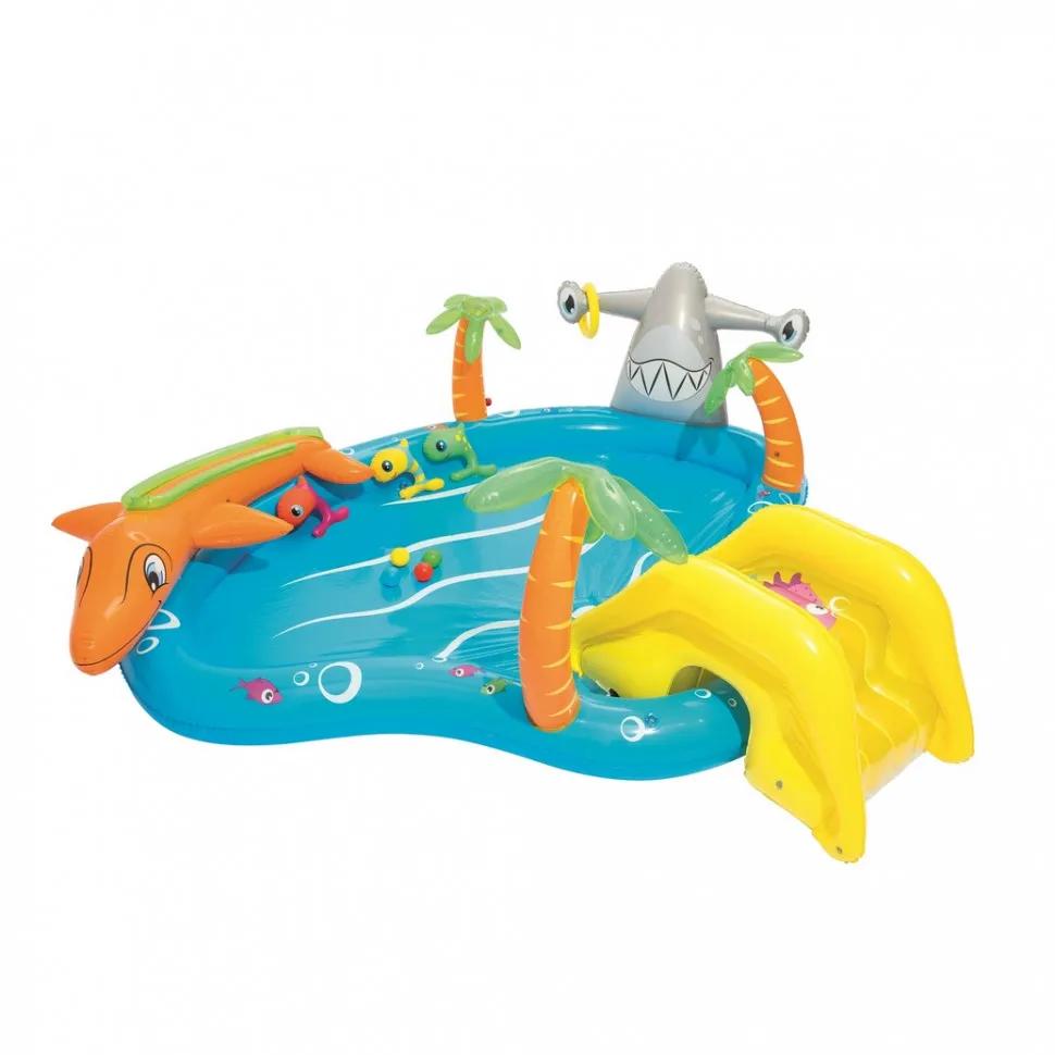 Дитячий надувний басейн Морська життя BW 53067 з тваринами