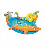 Дитячий надувний басейн Морська життя BW 53067 з тваринами, фото 2