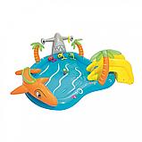Дитячий надувний басейн Морська життя BW 53067 з тваринами, фото 5